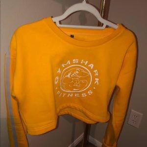 Gymshark crop sweater